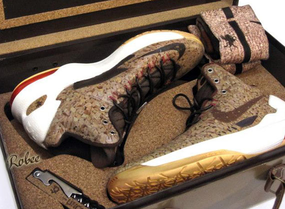 "huge selection of ded15 28f82 Nike KD V ""UnCorked"" Customs by Expression Airbrush"