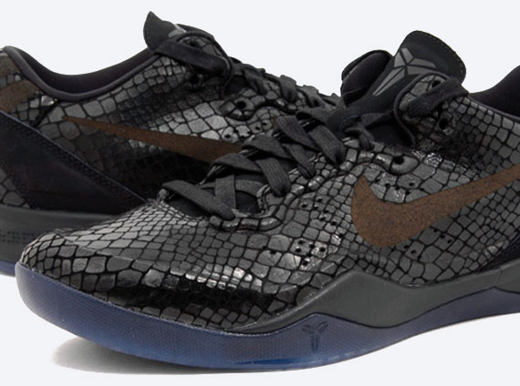 "buy popular 5d0c7 155ac Nike Kobe 8 EXT ""Year of the Snake"" – Black   Release Date"