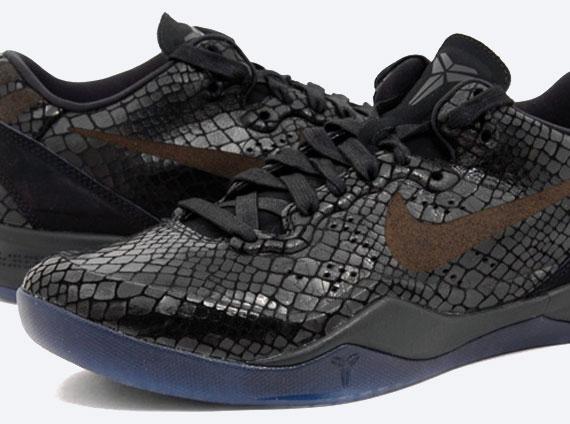 "buy popular 29b2d 8c848 Nike Kobe 8 EXT ""Year of the Snake"" – Black   Release Date"