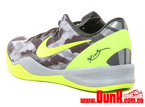 Nike Kobe 8 SYSTEM  GC  Sport Grey Volt-Pure Platinum 555286-001. Photos   Dunk e95fe706e