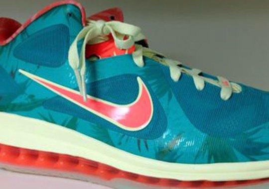 "finest selection 3cdba d2583 Nike LeBron 9 Low ""Reverse LeBronold Palmer"" – Available on eBay"