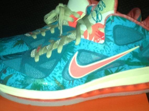 "info for 147a3 f2e48 Nike LeBron 9 Low – ""Reverse LeBronold Palmer"""