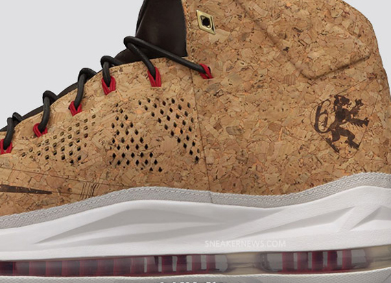 "the latest ba3fa 2ee7e Nike LeBron X ""Cork"" Price Change"