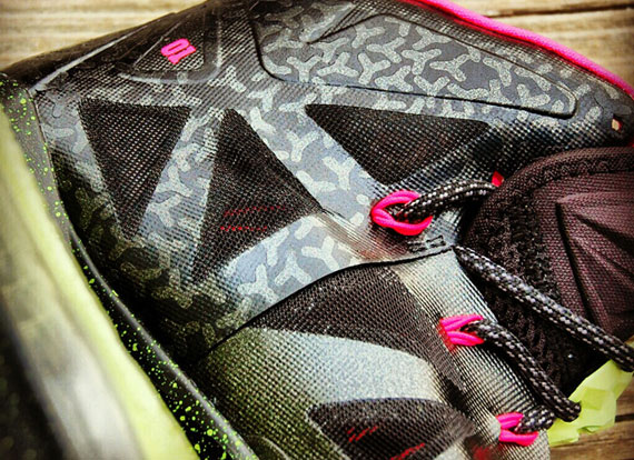 "size 40 d3e35 0f563 Nike LeBron X ""Homme Project Yeezy Blink"" Customs by Gourmet Kickz"