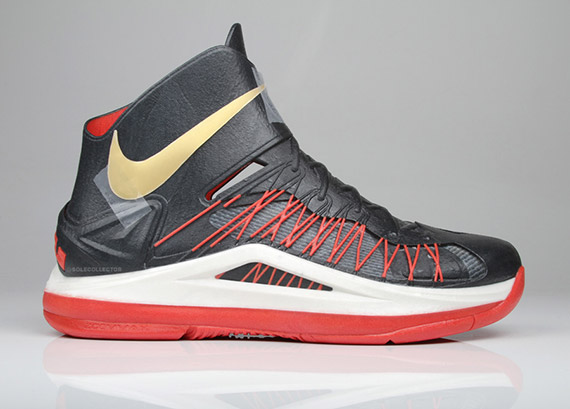 Nike LeBron X Z Corp 3D Sample