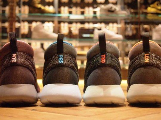 """Nike Roshe Run Mid """"City Pack"""""""