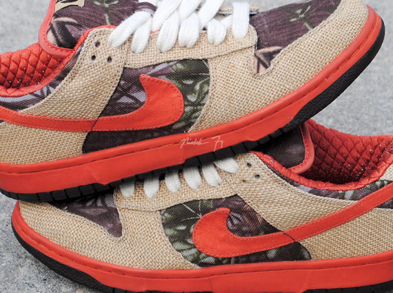 "detailing f751a 231dc Nike SB Dunk Low ""Hunter"" – Unreleased Reverse Sample"