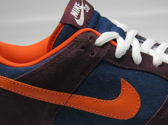 50%OFF Nike SB Dunk Low Brown Navy Orange Unreleased Sample