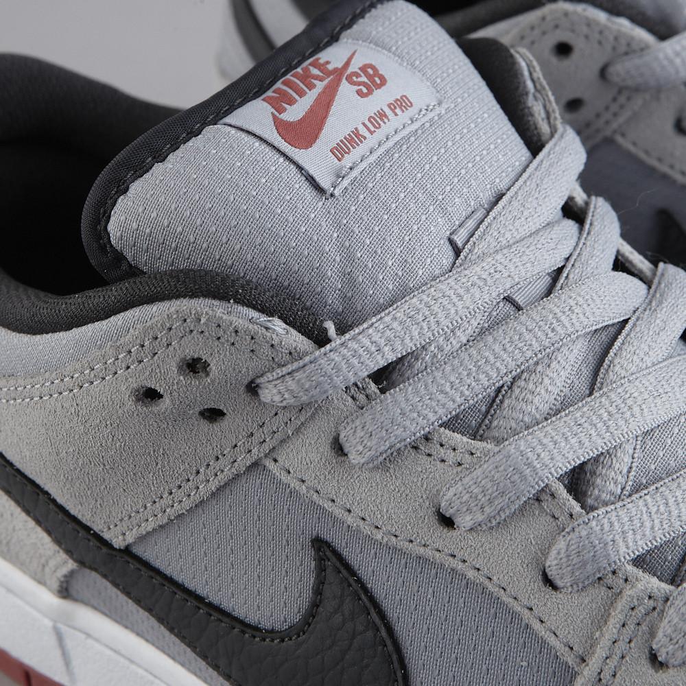 Nike Sb Dunk Pro Lobo Gris / Cuadrado Rdwd Bajo La Luz De Antracita vB2VLftK