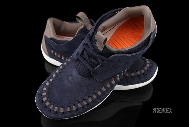 new photos 6f0ca 5d077 Nike Solarsoft Moccasin Premium Woven - Dark Obsidian - SneakerNews.com