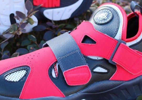 Nike Air Trainer Huarache '94 – Hyper Red – Neutral Grey – Black