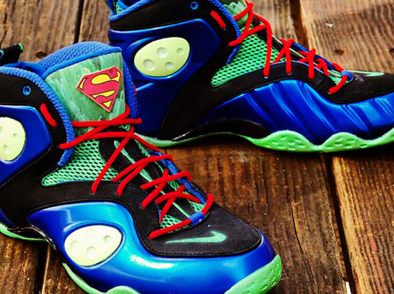 nike zoom rookie quotsupermanman of steelquot customs by