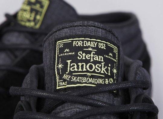 Nike Zoom Stefan Janoski Mid – Black – Electric Yellow