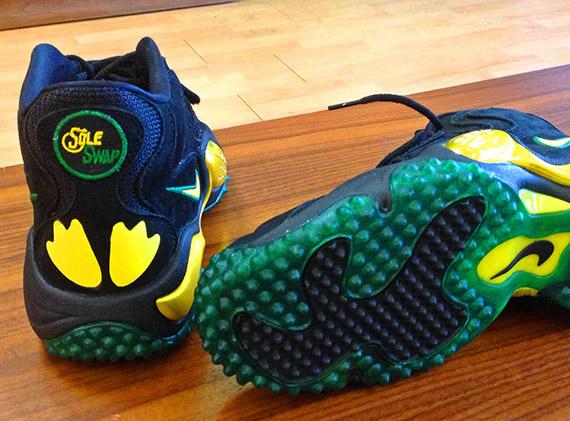 """ce2618f643 Nike Zoom Turf Jet '97 """"Oregon Ducks"""" Customs by Sole Swap ..."""