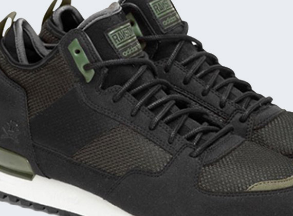 RANSOM x adidas Originals Military Trail Black Olive