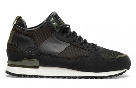 7e6f3d6d3036 RANSOM x adidas Originals Military Trail - Black - Olive ...