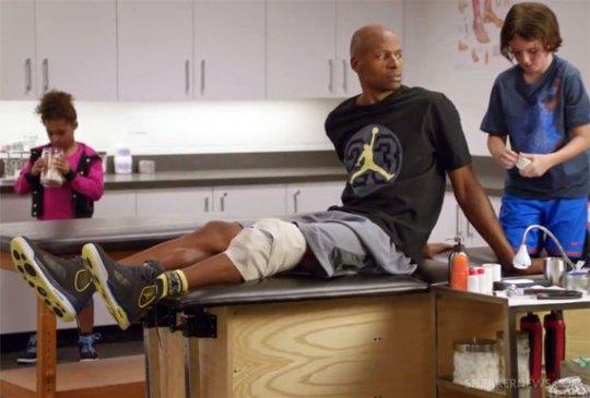 "Chris Bosh & Ray Allen x Foot Locker: ""Neighborhood Kids"""