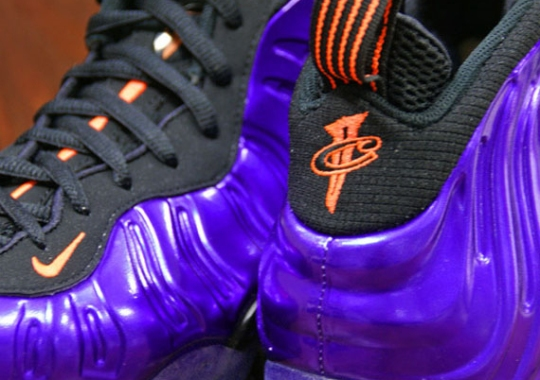 """Phoenix Suns"" Nike Air Foamposite One"