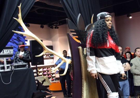 Teyana Taylor, Big Sean, & Pusha T Celebrate The Launch of the adidas Originals Harlem GLC