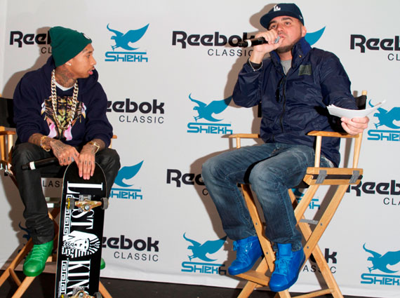 The latest rapper sneaker collab to reach the people is the Tyga x Reebok  Classics T-Raww ... 7d3f44e340