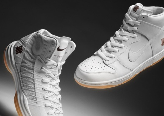 """Undefeated x Nike Dunk High & Hyperdunk 2012 """"Bring Back Pack"""""""