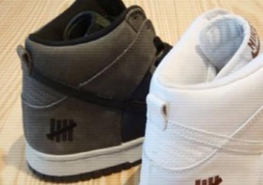"UNDFTD x Nike Dunk High ""Bringback Pack"" – Ballistic"