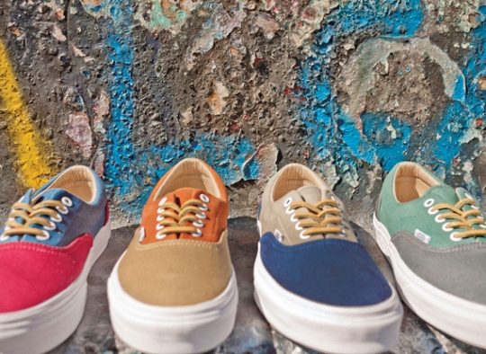 "Vans California ""Brushed Twill"" Collection"