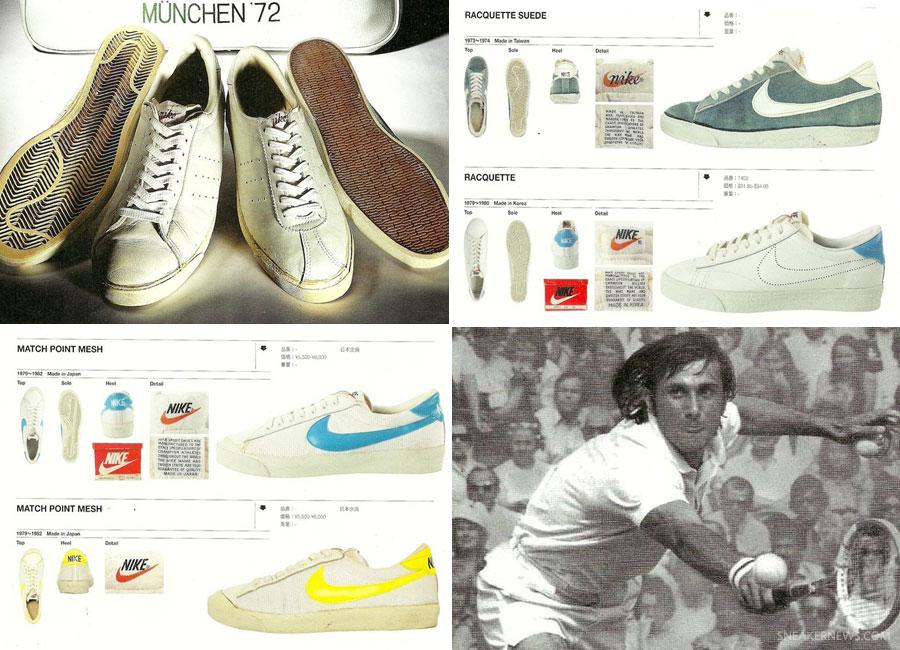 Vintage Nike Tennis Catalogs