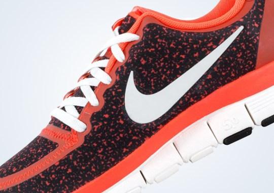 Nike WMNS Free 5.0 V4 – Total Crimson – Black