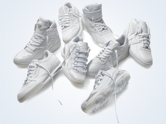 Reebok Classics White Collection