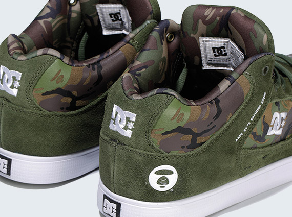 25cbeb3d103a AAPE by A Bathing Ape x DC Shoes Radar Slim quotCamoquot lovely ...