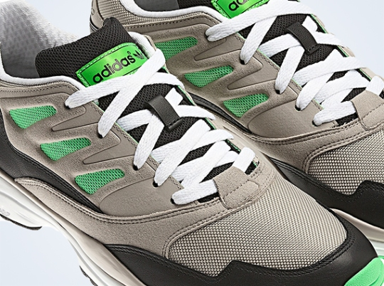adidas Originals Torsion Allegra – University Silver – Green