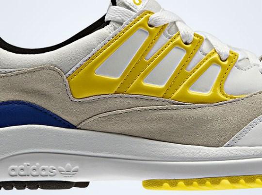 adidas Originals Torsion Allegra – White – Yellow – Blue