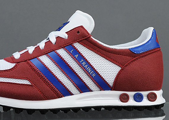 Adidas La Trainer Blue Red werkplan.nu