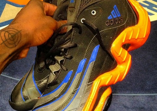 """adidas Real Deal """"Knicks"""" Custom by Sole Swap for Iman Shumpert"""