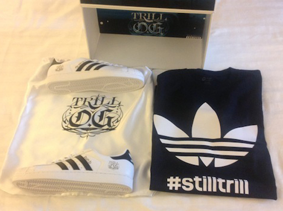 adidas Superstar 40th Birthday quot Trill OGquot Package for Bun B