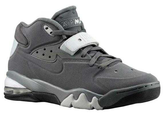 a06c274c88ca2 Nike Air Force Max 2013. Dark Grey/Wolf Grey-Black-Dark Grey 555105-001