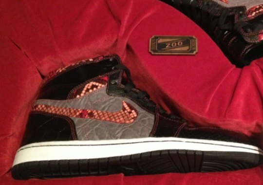 "Air Jordan 1 ""Brooklyn Zoo"" Customs – Limited Edition Wooden Box Package on eBay"