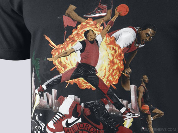 Air Jordan 1 quot Picturesquequot T Shirt