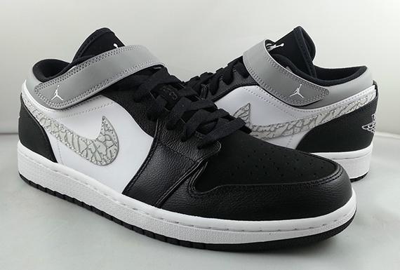 Air Jordan 1 Strap Low - Black - Matte