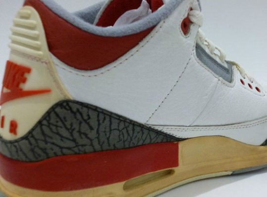 """Air Jordan III """"Fire Red"""" – OG Pair on eBay"""