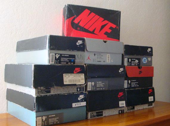 Air Jordan OG Collection Lot on eBay