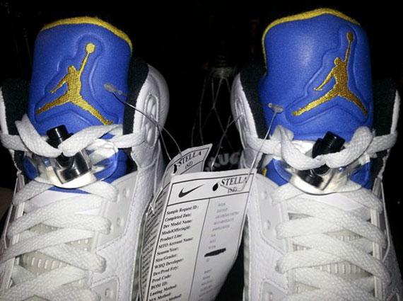 """purchase cheap 0d607 f40ea Air Jordan V """"Laney"""" 2013 Sample on eBay"""
