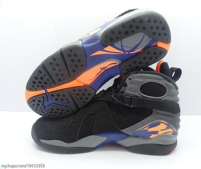 Air Jordan V111 Orange Et Noir