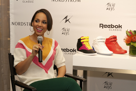 Alicia Keys x Reebok Freestyle Hi Wedge