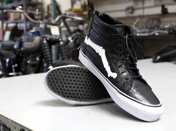689bfaedd0 Blends x Vans Vault Sk8-Hi Zip LX - SneakerNews.com
