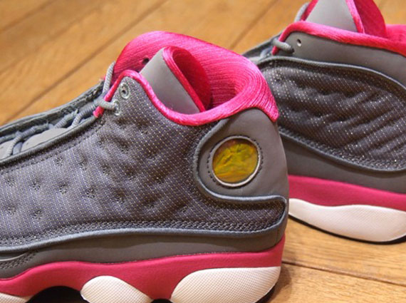 df4b2ae5cfa687 Air Jordan XIII GS - Cool Grey - Fusion Pink