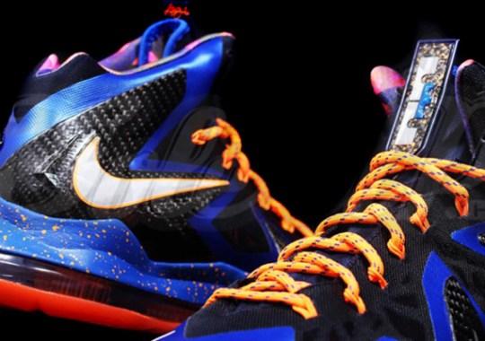 """Superhero"" Nike LeBron X Elite"