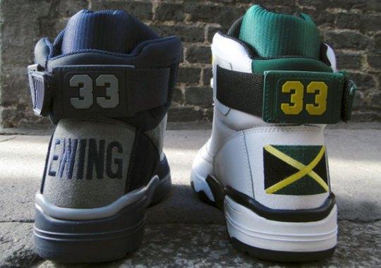"Ewing 33 Hi ""Jamaica"" & ""Georgetown"""