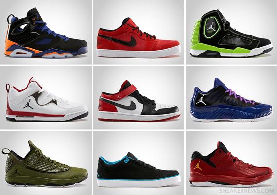 Jordan Brand May 2013 Footwear Releases